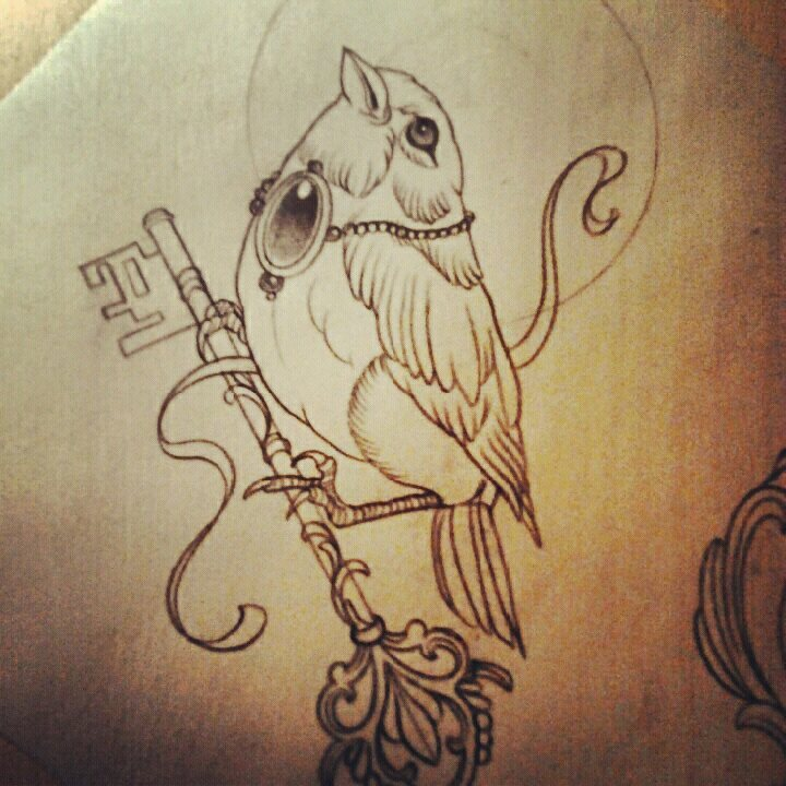 Bird Tattoo Drawing at GetDrawings.com | Free for personal use Bird ...