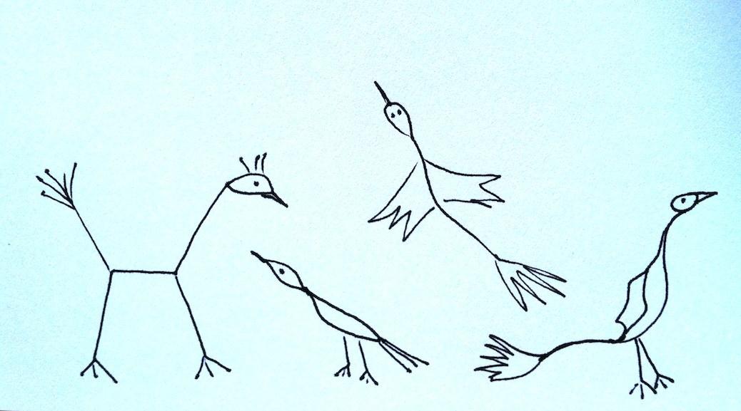 1038x577 Stickman Drawing Challenge Day 21 Bird Watching