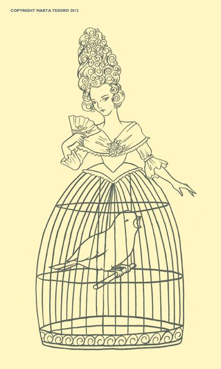 432x720 Victorian Birdcage