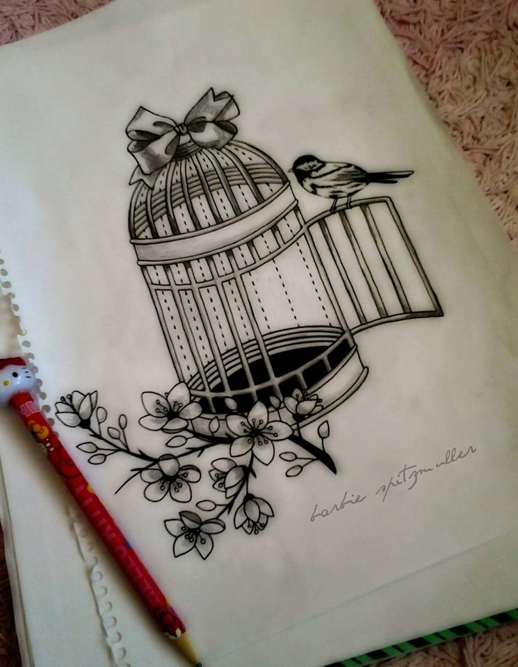 745x960 Bird Cage By On @
