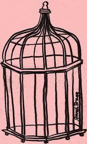 175x287 Birdcage Drawing