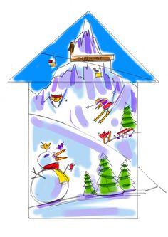 236x333 Alex Jones Colour Drawings For Her Snowden Mountain Birdhouse