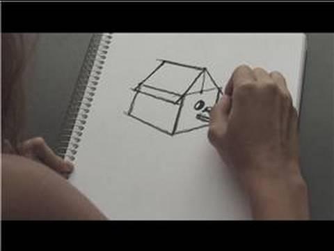 480x360 How To Draw How To Draw A Birdhouse