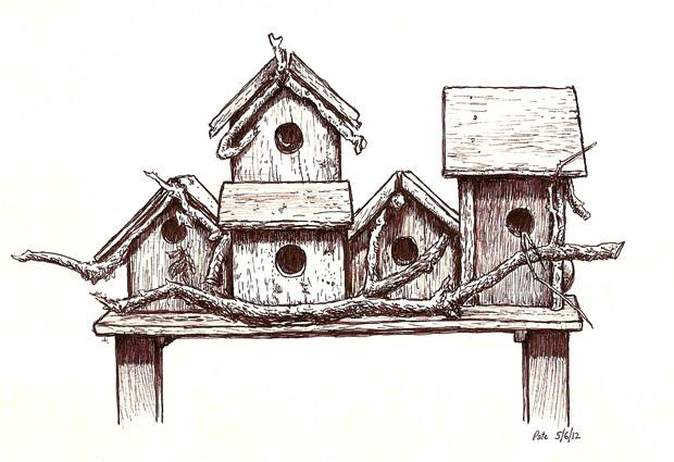 620x425 Birdhouse Last Sunday I Took Part As An Artist In