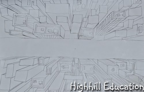 500x319 Highhill Homeschool Perspective Art For Kids