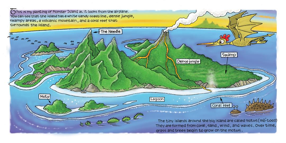 1080x540 Bron Smith's Flights Of Fantasy Bird's Eye View Of Monster Island