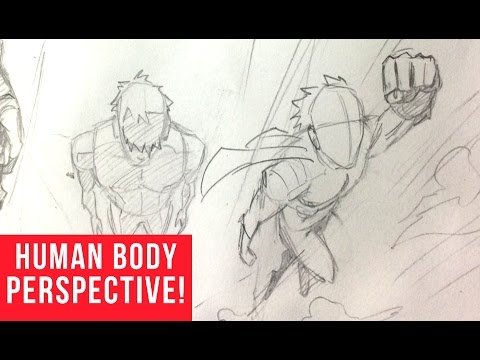 480x360 How To Draw Characters In Perspective Bird's Eye View