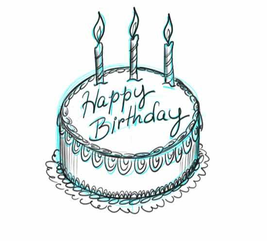 550x498 Make Your Own Birtday Cake Step 7 How To Draw