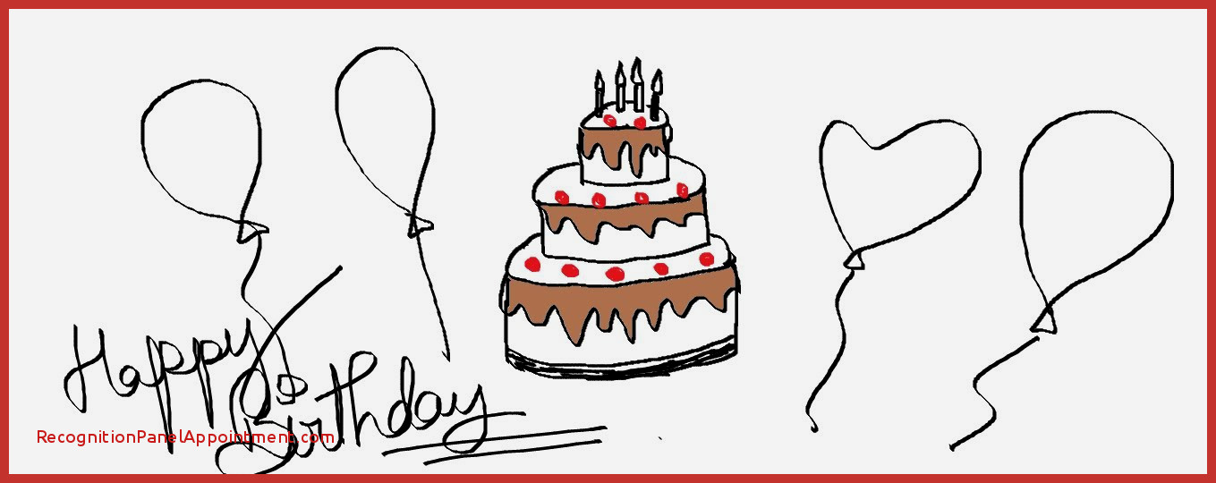 1359x540 Simple Birthday Cake Drawing Best Of Easy Kids Drawing Lessons How