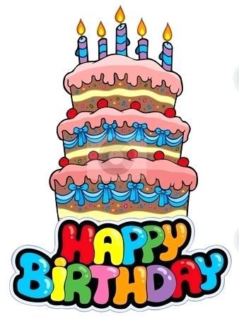 338x450 Birthday Cake Cartoon Happy Birthday Cake Cartoon Photos Buy Stock