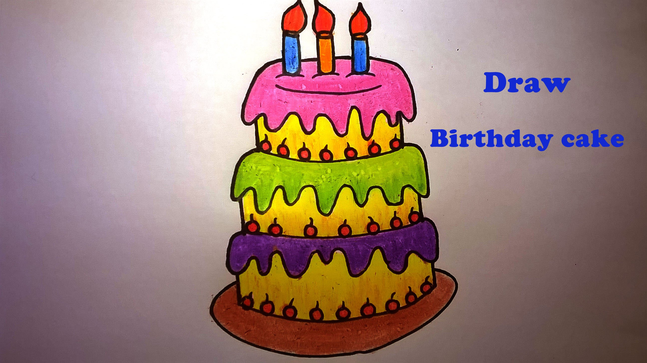 Birthday Cake Outline Printable ~ Birthday cake drawing images at getdrawings.com free for personal
