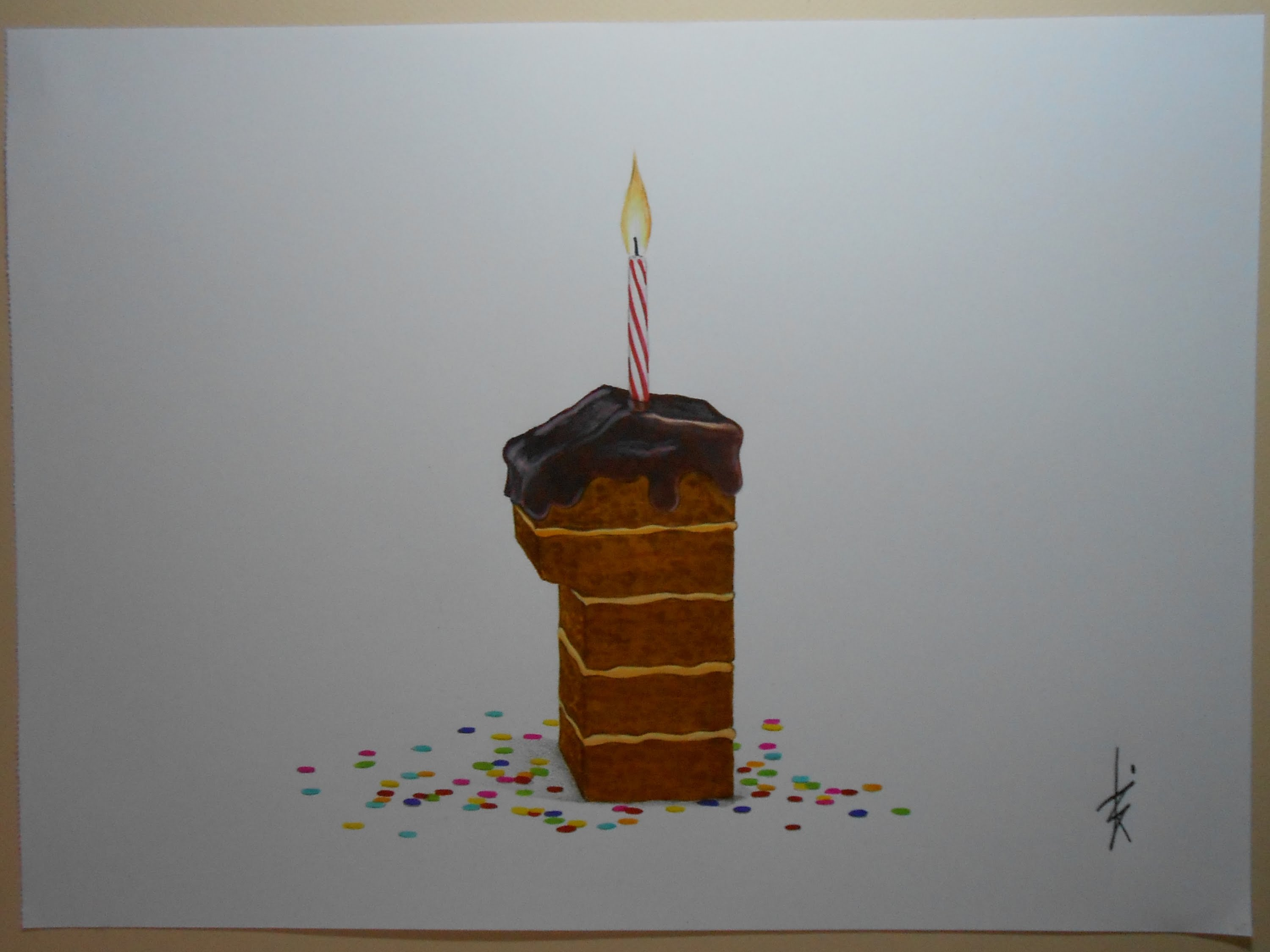birthday cake pencil drawing at getdrawings com free for personal