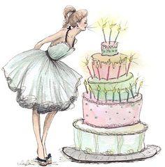 236x240 Cake Illustration Idea @ Tiny Art Cake