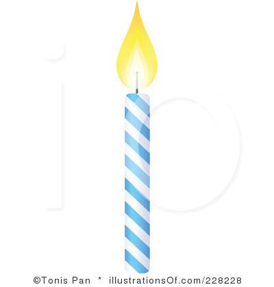 400x420 Birthday Candle Clipart Black And White Clipart Panda