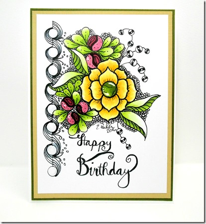 Birthday cards drawing at getdrawings free for personal use 414x451 in a world of craft birthday card original art art 2016 m4hsunfo