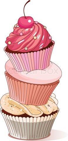 232x480 Pink Cupcake