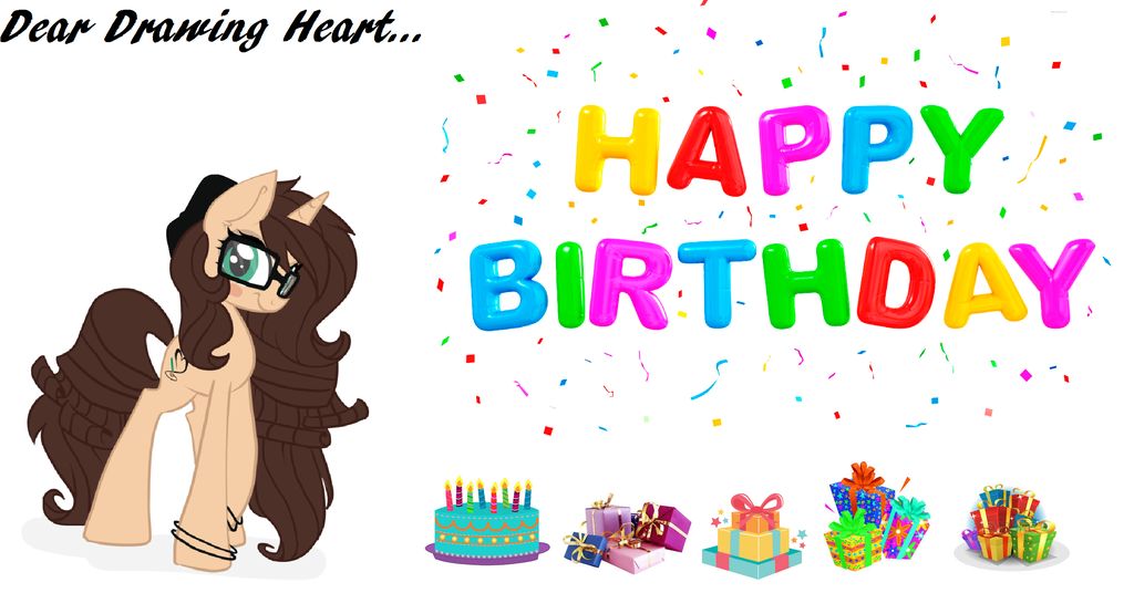 1024x536 Happy Birthday, Drawing Heart By Naitaidaifoxxoll