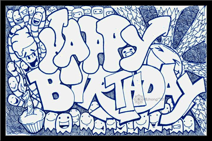 720x479 Happy Birthday Drawing Ideas That You Just Wish To Check
