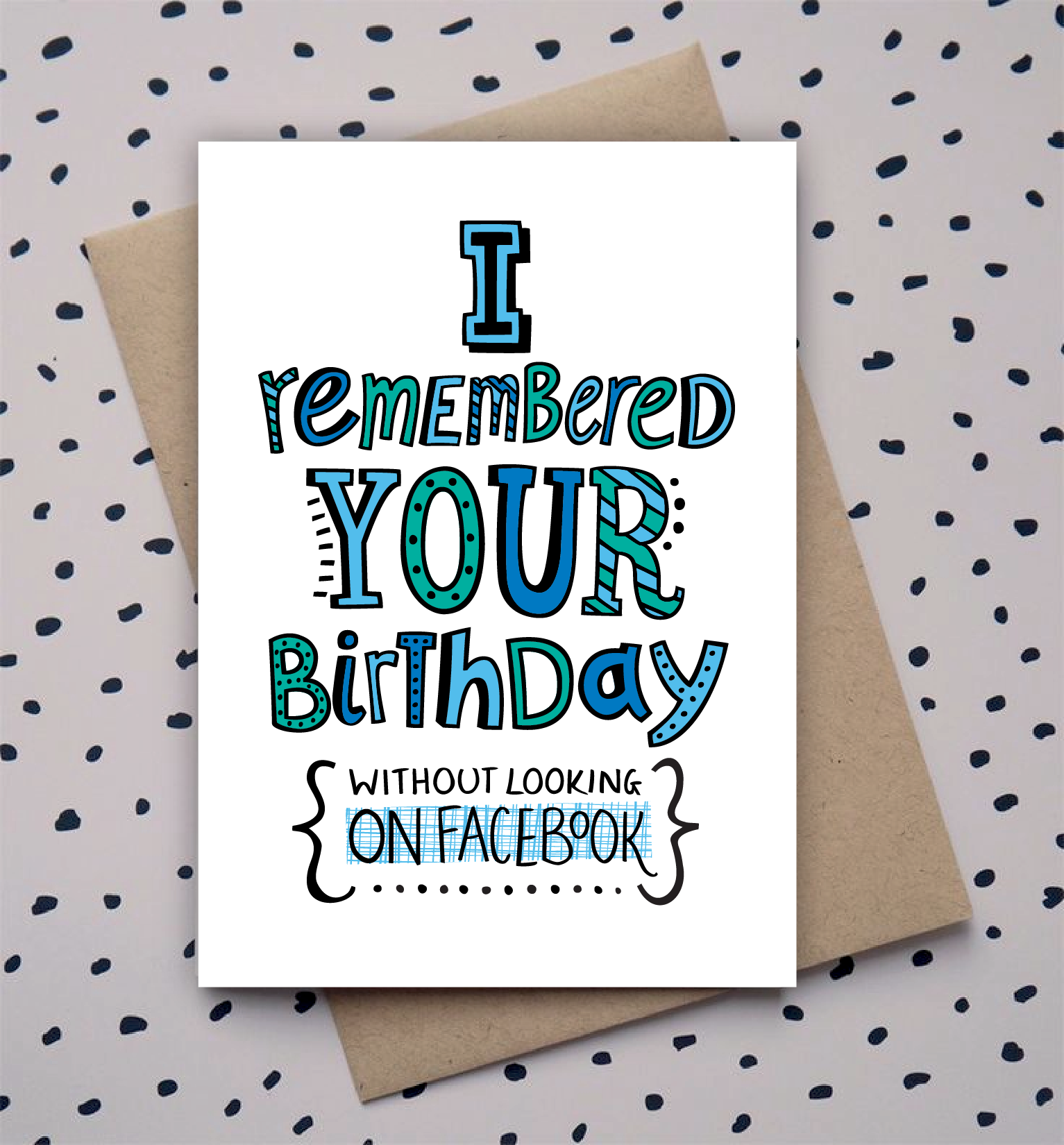1533x1650 Hand Drawn Type, Doodle, Birthday Card, Funny Funny
