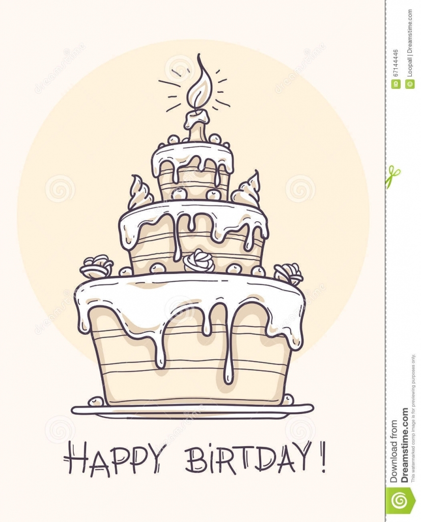 827x1024 Drawings Of Birthday Cards Card Design Ideas
