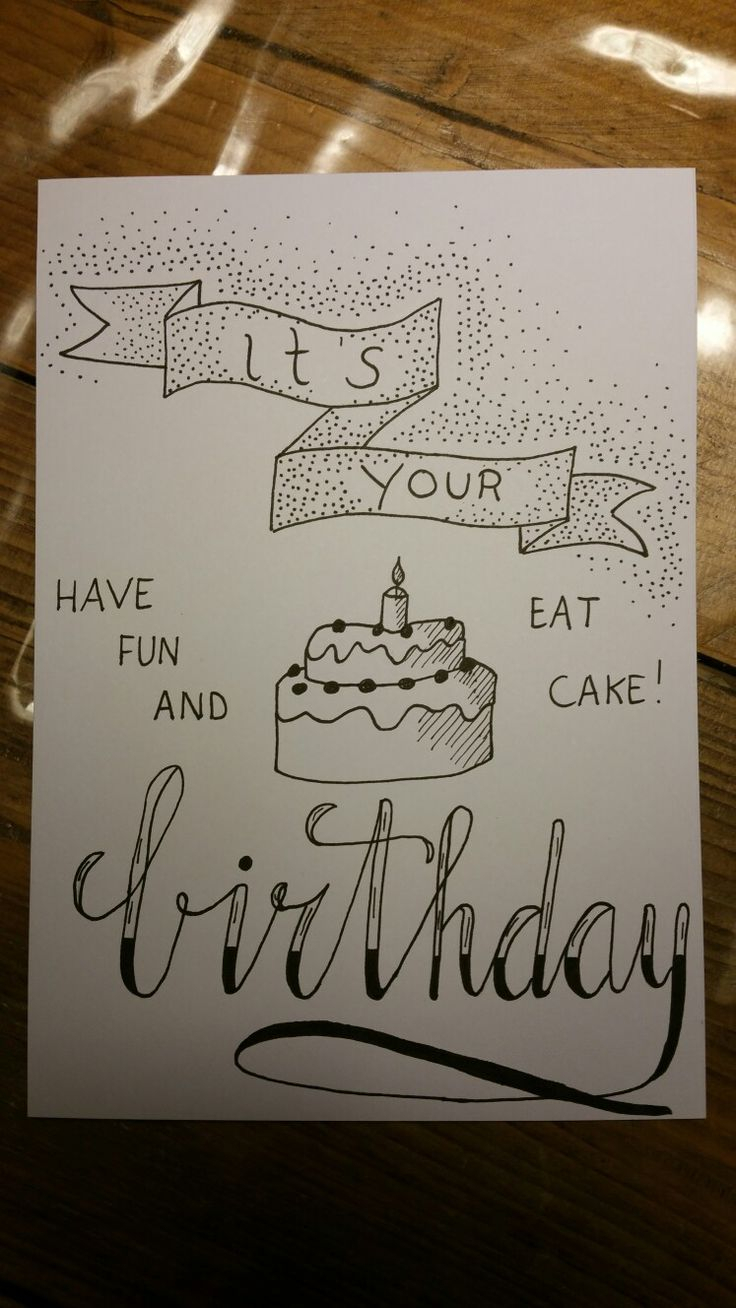 736x1308 Happy Birthday Drawing In Pencil Best Birthday Typography