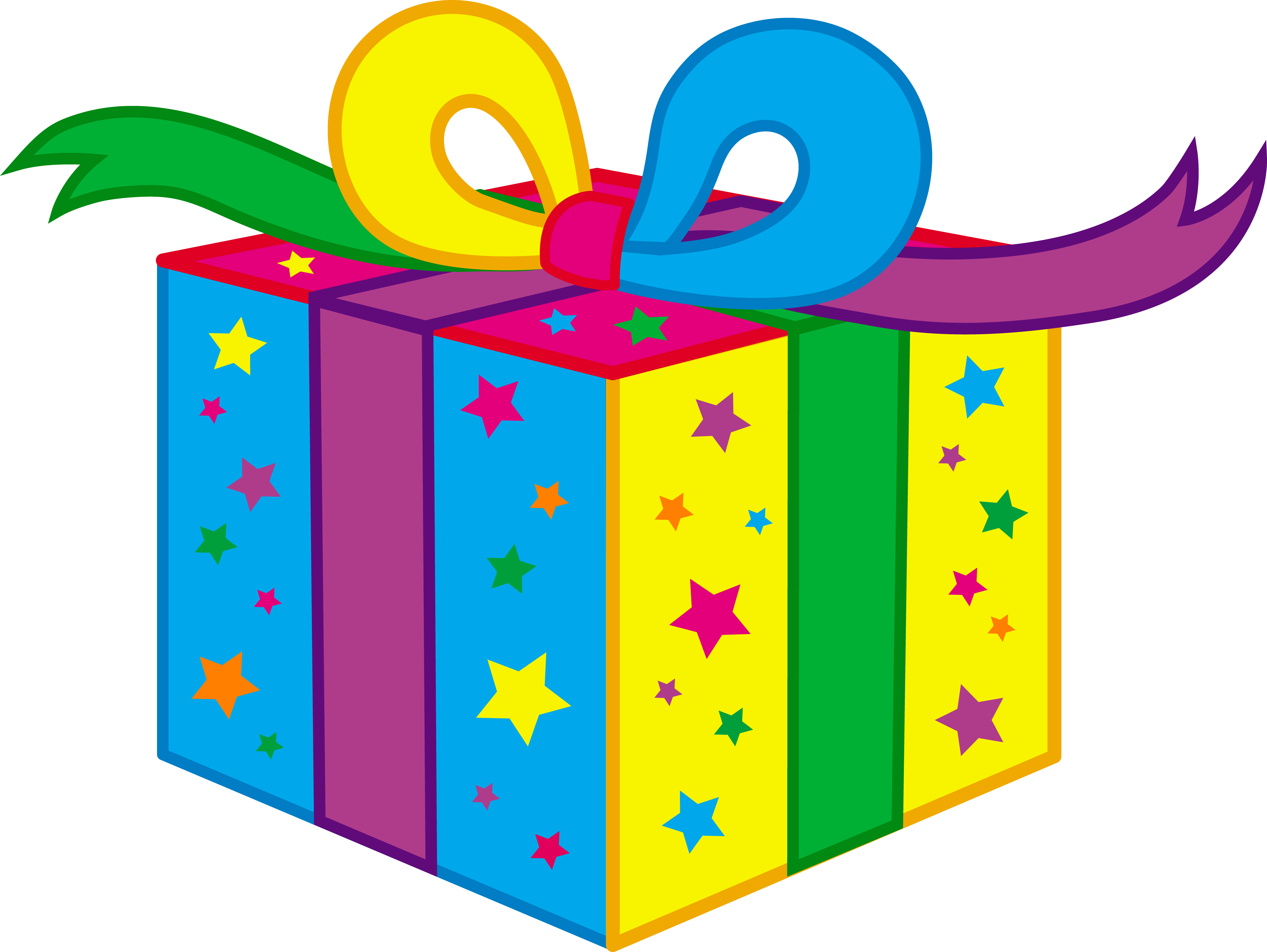 Birthday gift drawing at getdrawings free for personal use 6831x5132 kids birthday party present negle Image collections