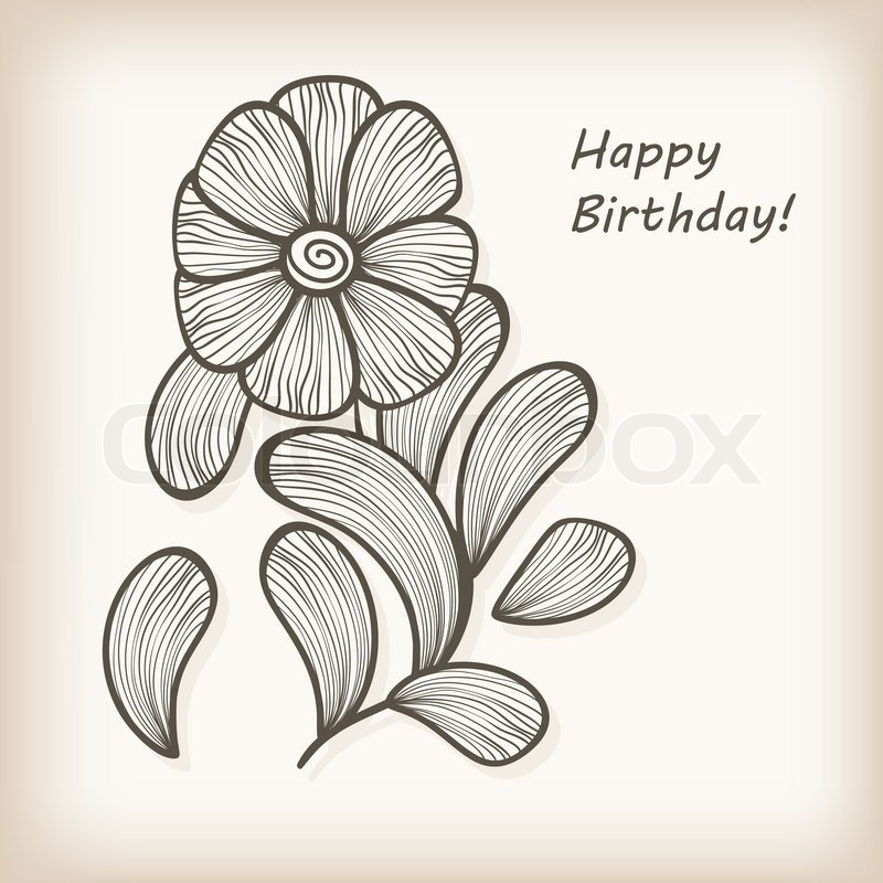 Birthday Greetings Drawing At Getdrawings Free For Personal