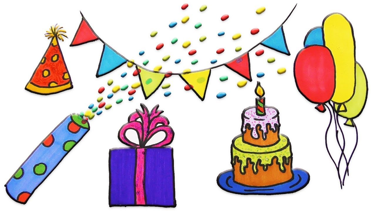 Birthday Hat Drawing At Getdrawings Free For Personal Use