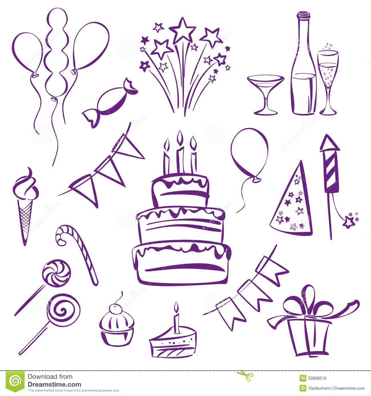 1300x1390 Birthday Party Theme Clipart Vector To Draw