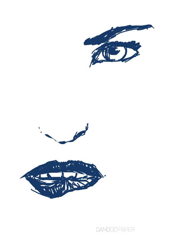 biting lips drawing at getdrawings com free for personal use