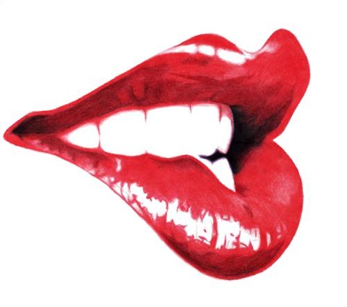 500x443 Nostalgia Lippps Nostalgia, Lip Biting And Lips