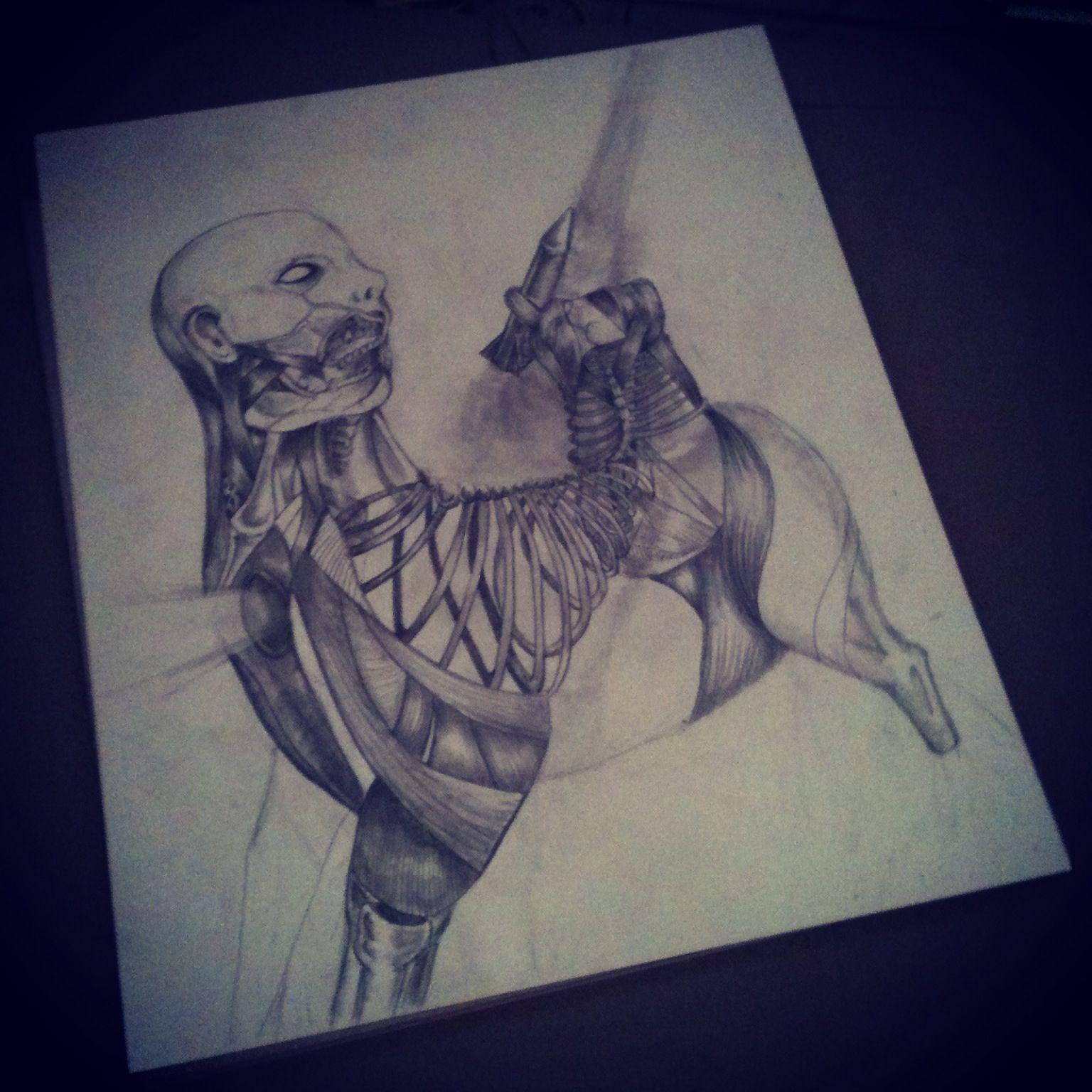 1536x1536 Art Drawing Fantasy Morbid Bizarre Drawing Fantasy Sci If