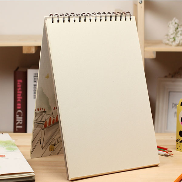 600x600 A4 Spiral Blank Drawing Booksketch Book