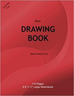 260x336 Blank Drawing Book Blank Sketch Pad Blank Drawing