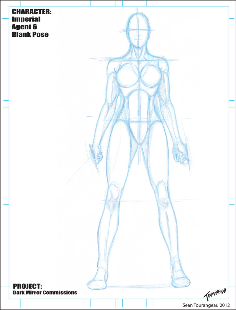 800x1050 Imperial Agent 6 Blank Pose Sketch By Stourangeau