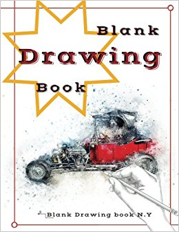 260x336 Blank Drawing Book Blank Book Draw Art Paper Large Size 120 Page
