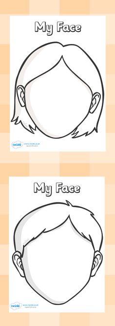 236x667 Twinkl Resources Gtgt Blank Face Templates Gtgt Classroom Printables