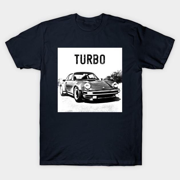 630x630 Porsche 911 Turbo Drawing Effect