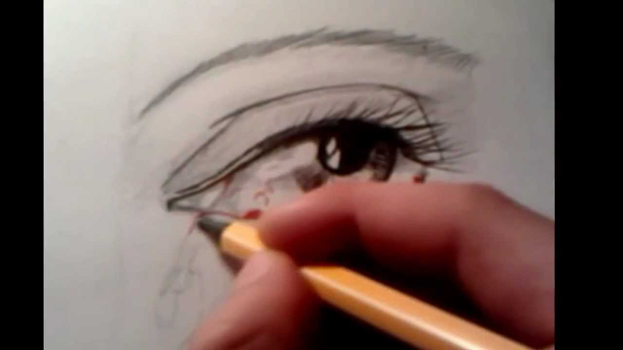 1280x720 Bleeding Eye, Speed Drawing