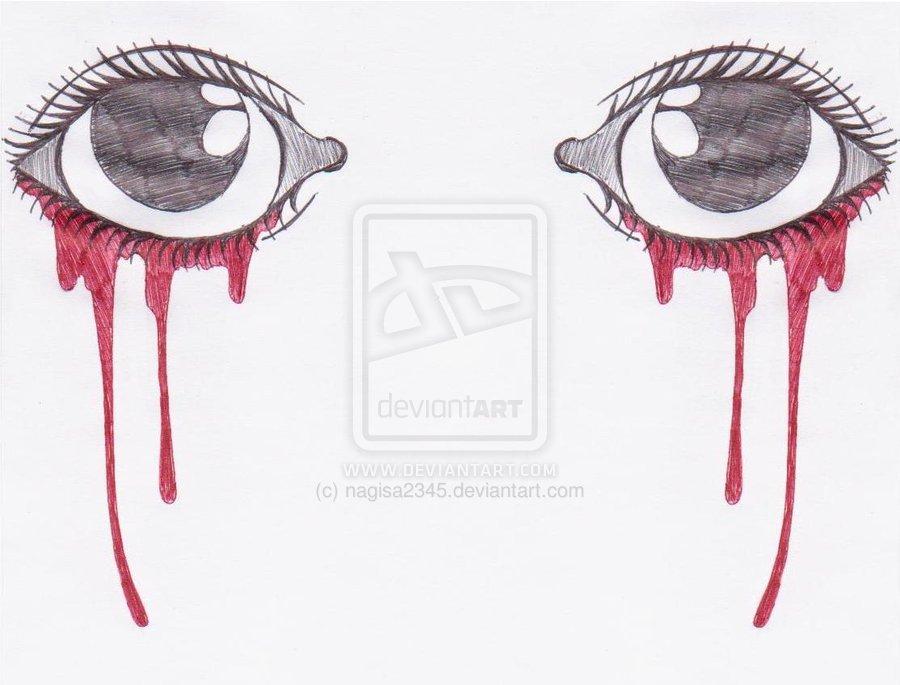 900x685 Bleeding Eye Drawing