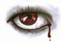 236x166 Red Tears Red Crying Eye Picture
