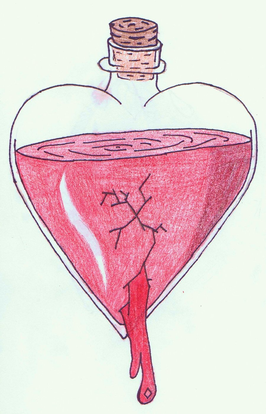 900x1401 Bleeding Heart By Peace 88