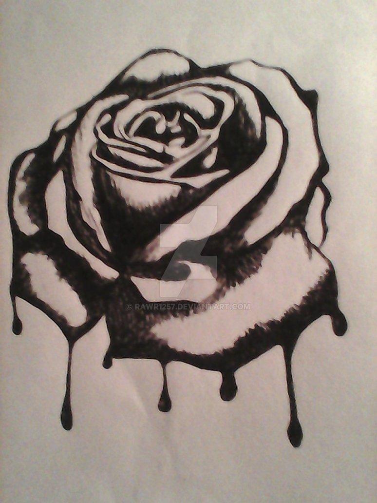 774x1032 Bleeding Rose By Rawr1257