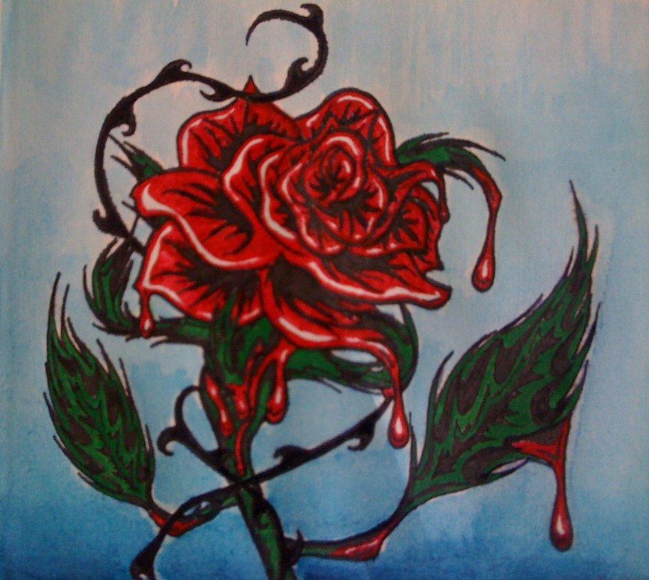 946x845 The Bleeding Rose By Bleedngrose