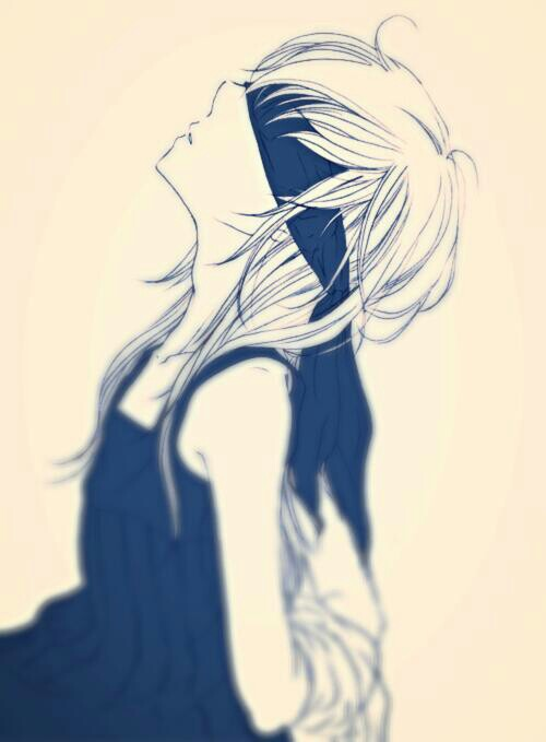 500x679 Anime Girl With Blindfold 3dit5 Anime And Drawings