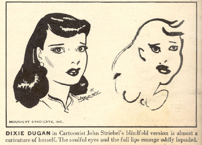 700x504 In 1947, Ten Comic Strip Artists Were Asked To Draw Their