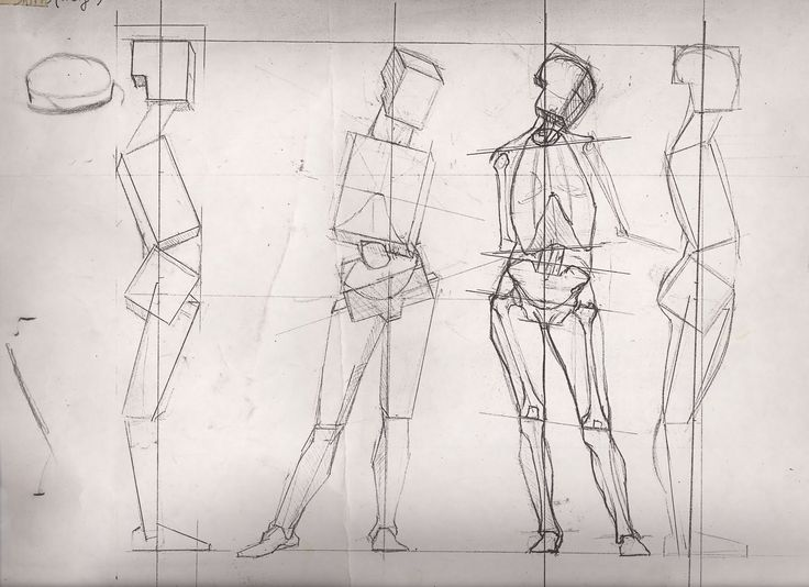 736x534 44 Best Figure Drawing Planar Studies, Straight Lines, Amp Block