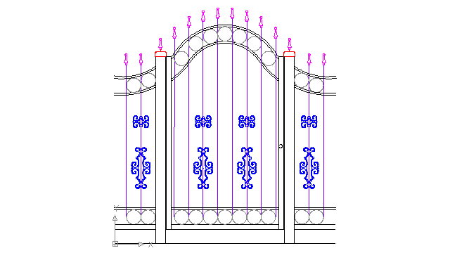640x360 Vintage Wrought Iron Gates And Fences Block In Decorative Elements