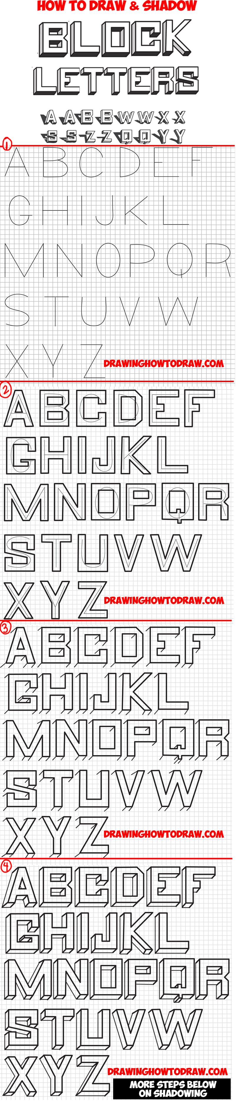 Block Letters Drawing At Getdrawings Com Free For Personal Use