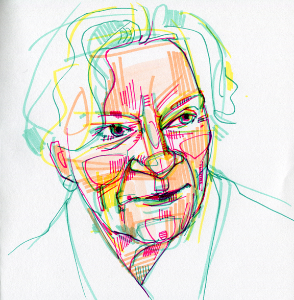 576x587 Gwenn Seemel's Artist Blog Drawing My Mother Dessiner Ma